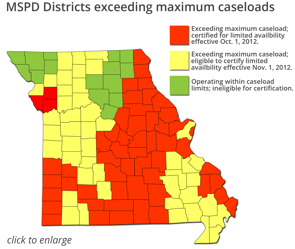 MSPD Districts in case overload