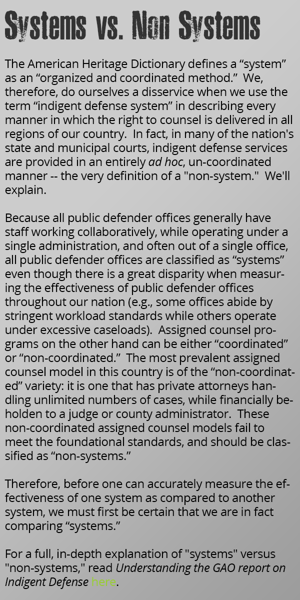 Department of assigned counsel