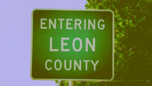 Leon County sign