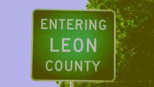 Leon County sign