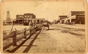 Carson Street, Carson City, c1865