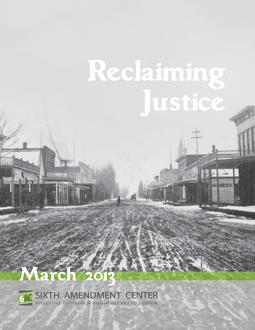 download Reclaiming Justice report