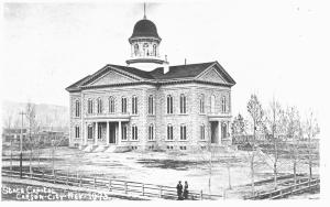Capitol Building, Carson City Nevada, c1870