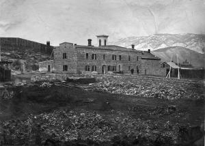 Nevada State Penitentiary c1870