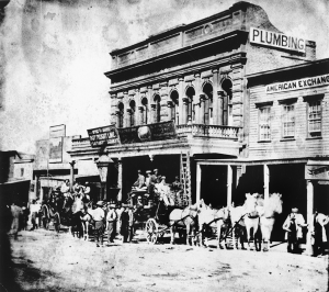 Wells Fargo Stage, c1870