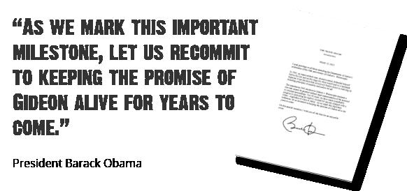 Pres. Obama letter to DOJ