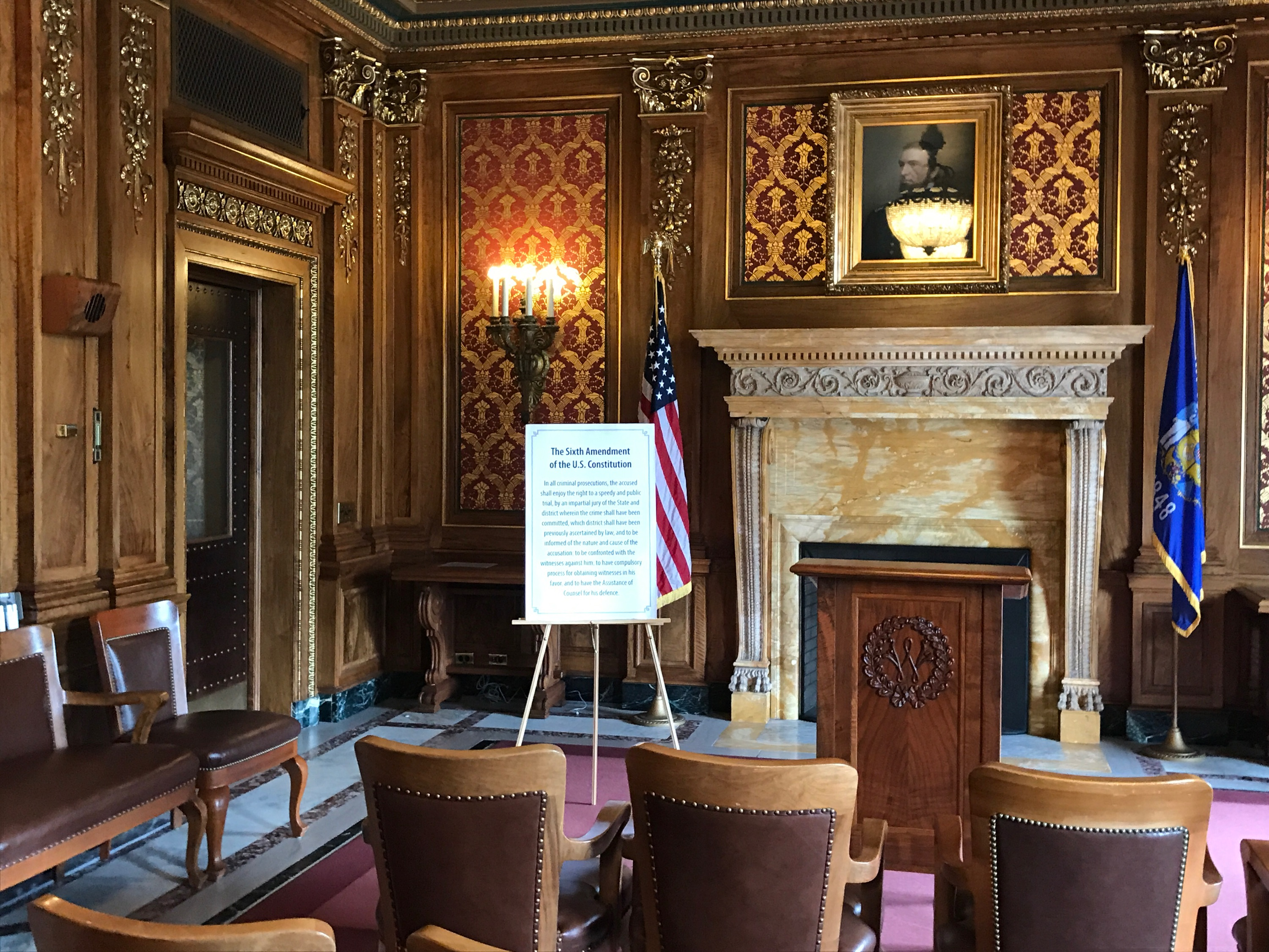 Wisconsin Capitol Assembly Parlor